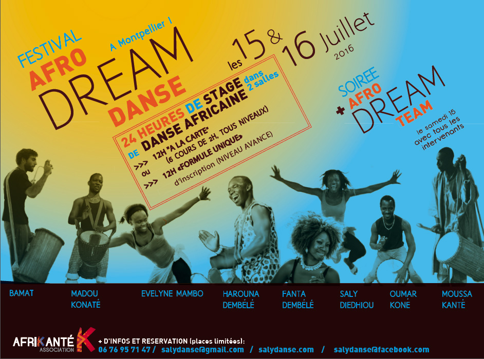 flyer afro dream 16